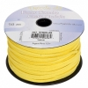 Faux Suede Lacing 50m Yellow